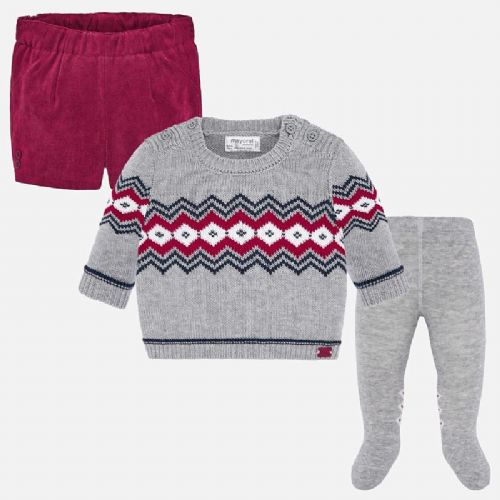 Boys Shorts & Jumper with Tights